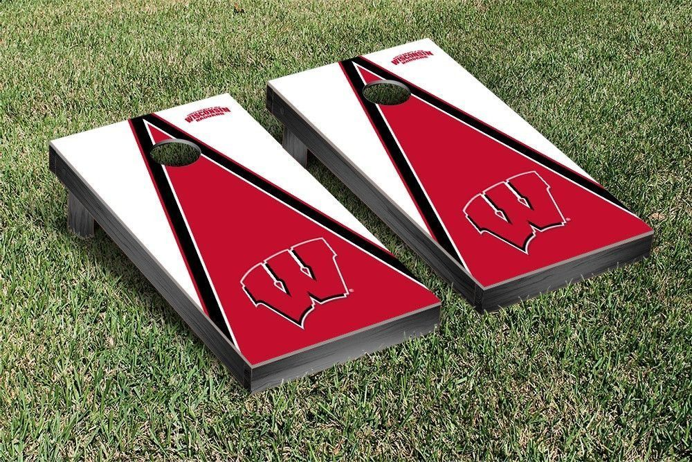 Pyramid of Power Wisconsin Badgers Corn Toss Game