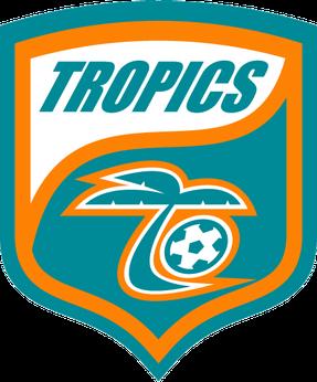 Florida Tropics Sc Png Soccer Logo Florida Sports Teams Sports Logo