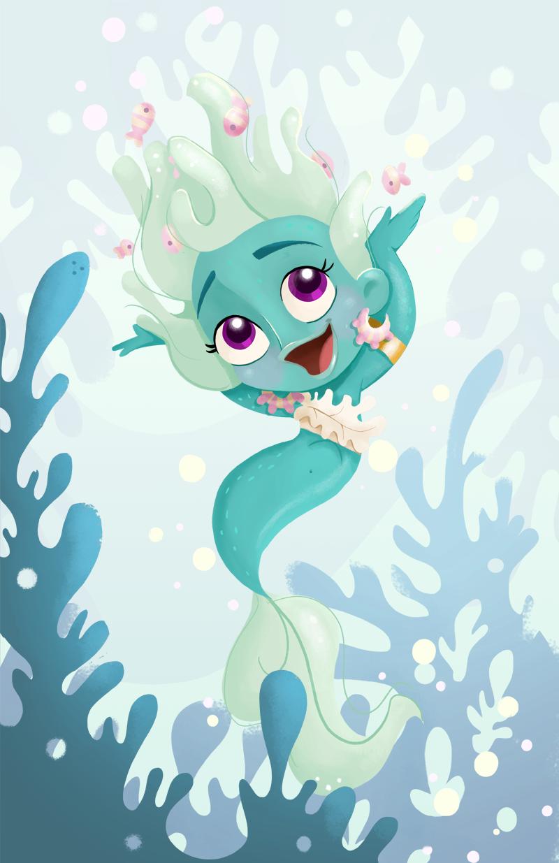 Mermaid fun by petitealby