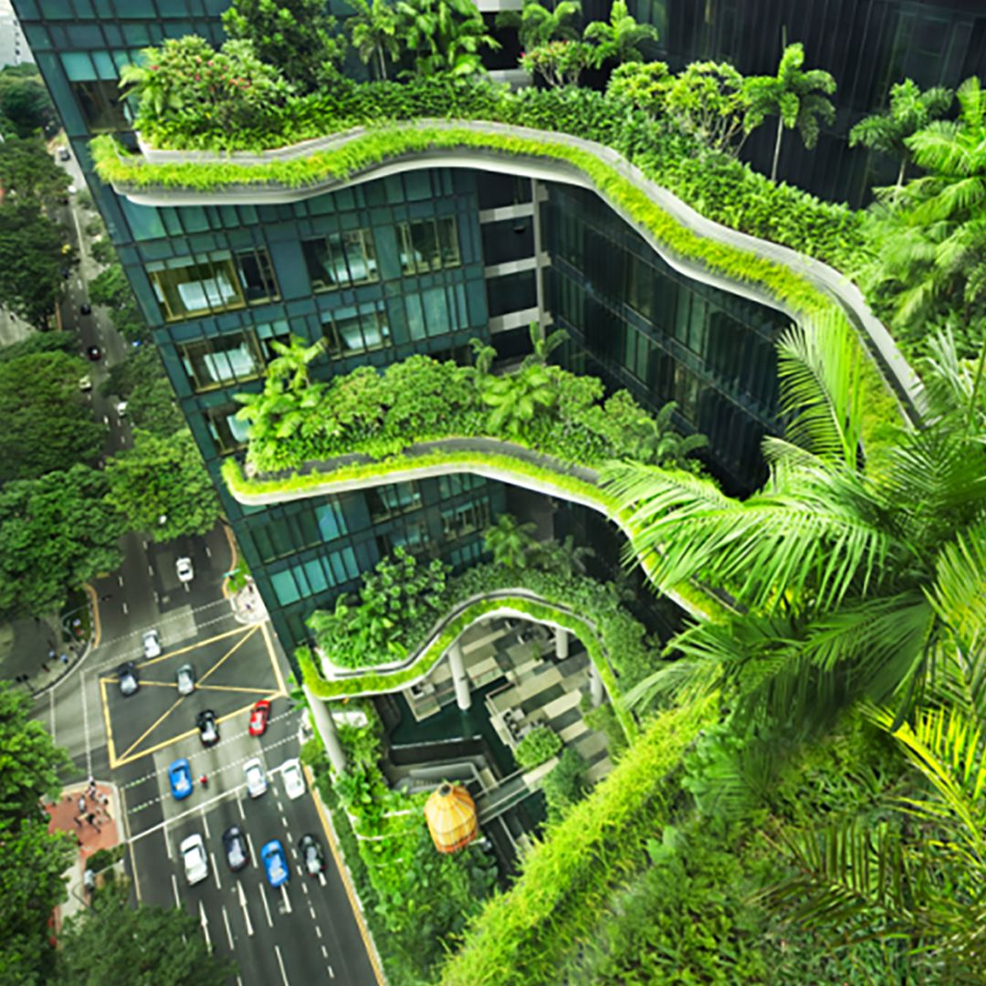 Buildings don 39 t have to take away green spaces richard for Green design