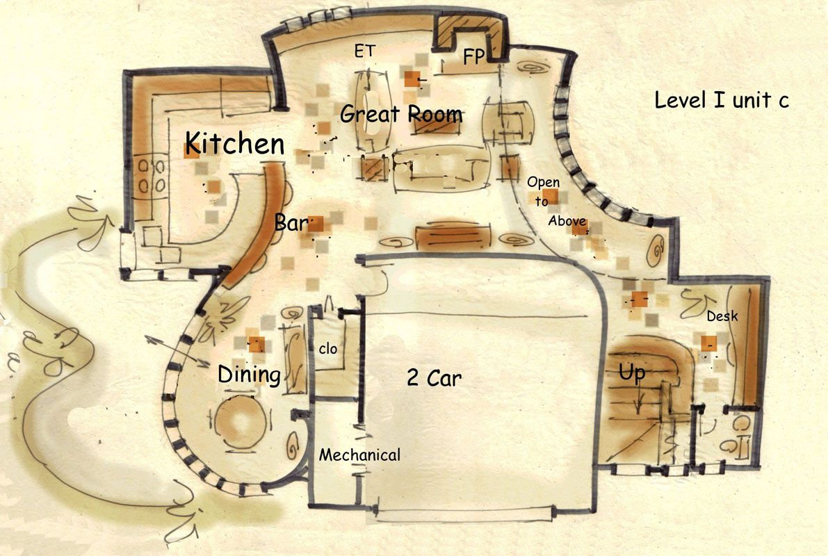 Fantasy house plan hansel floor plans pinterest for Fantasy house plans