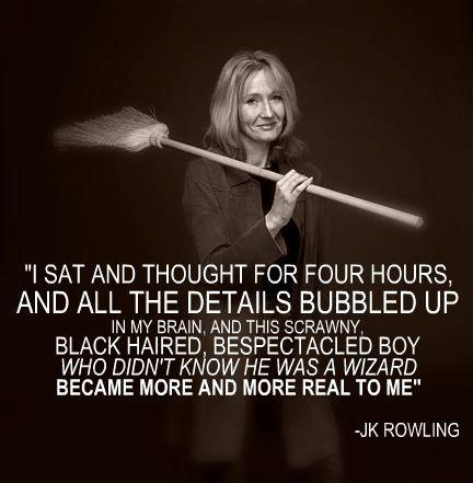 J.K. Rowling on Harry Potter