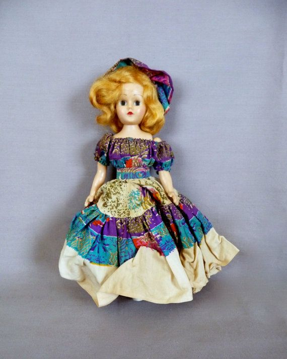 Vintage Gypsy Doll