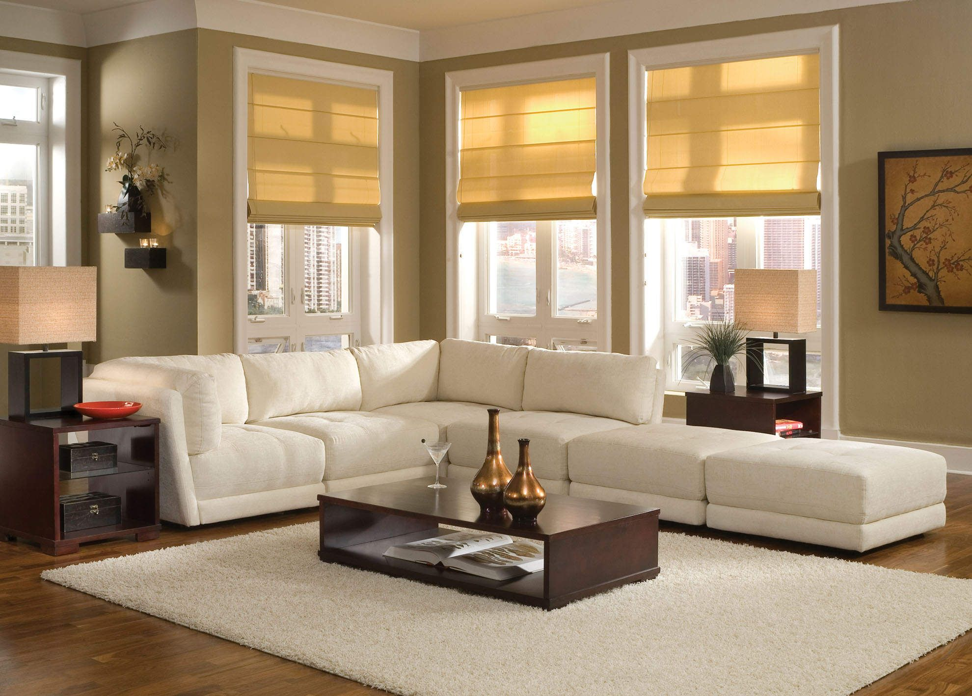 Cool Carpet Ideas Amazing White Comfortable Long Sofas With Thick Home Inspiration Small Living Room
