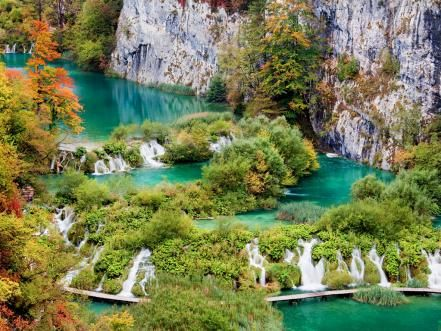 The scenic Adriatic coast, Dubrovnik's city walls and Plitvice Lakes National Park are some of the sights that will take your breath away.