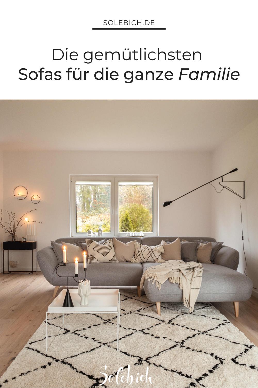 Die gemütlichsten Sofas für dein Zuhause!