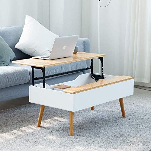 Enjoy exclusive for Lift Top Coffee Table Hidden Storage Coffee Table  Living Room Furniture online - Chicprettygoods