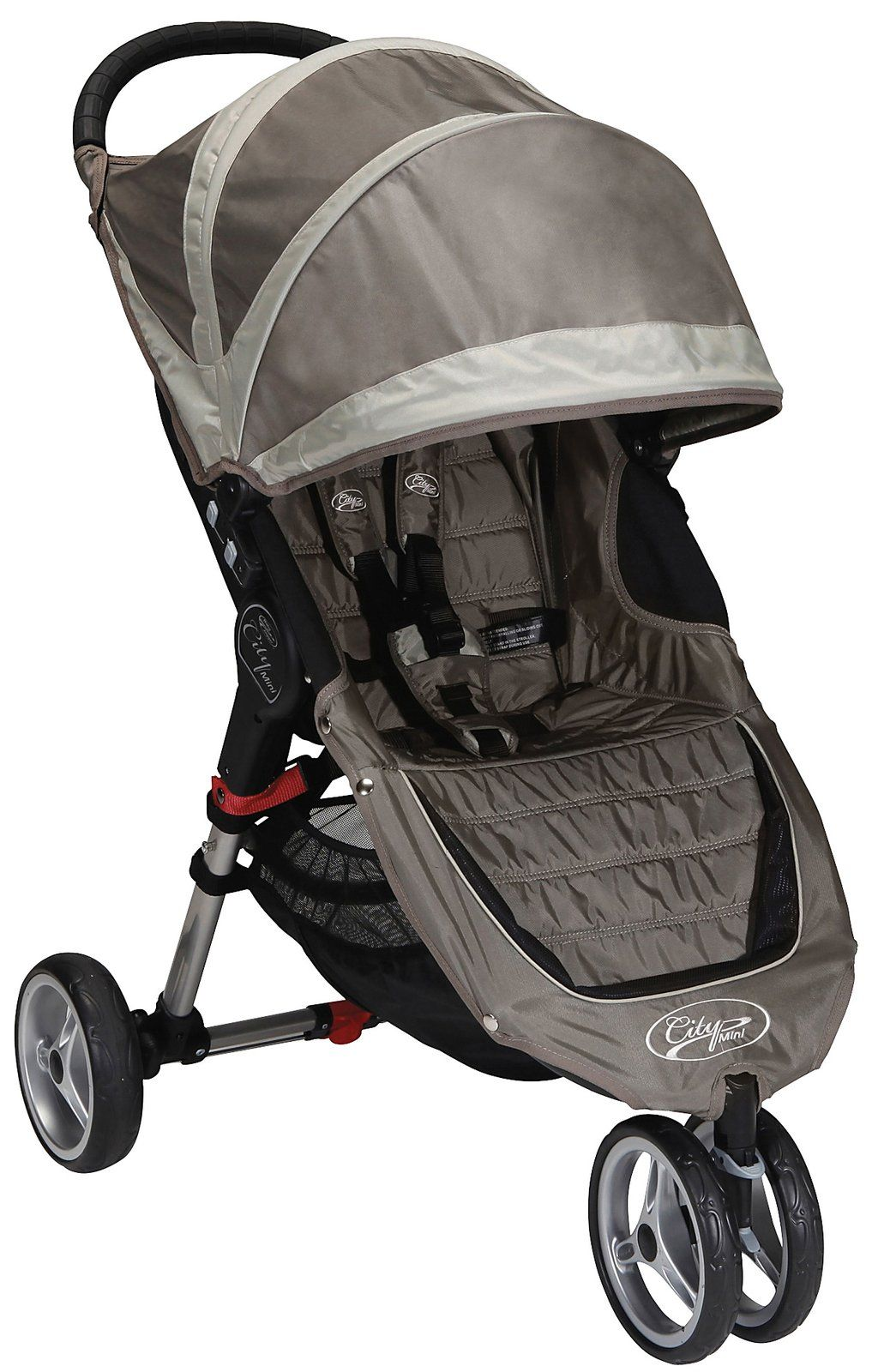 Baby Jogger City Mini Single Stroller Black/Gray Free