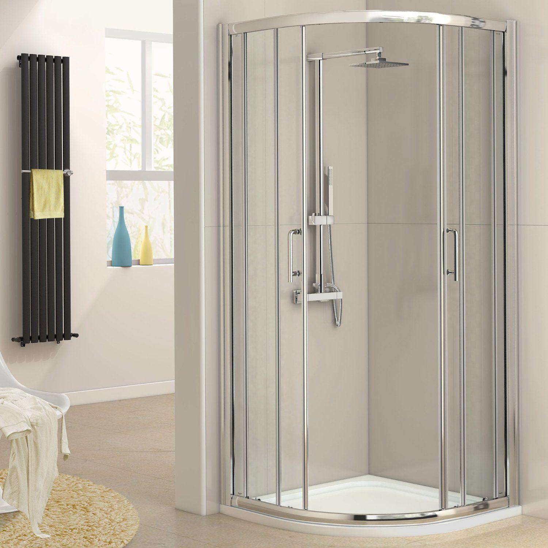 Quadrant Centre Opening Shower Doors Enclosure   Shower Enclosures ...