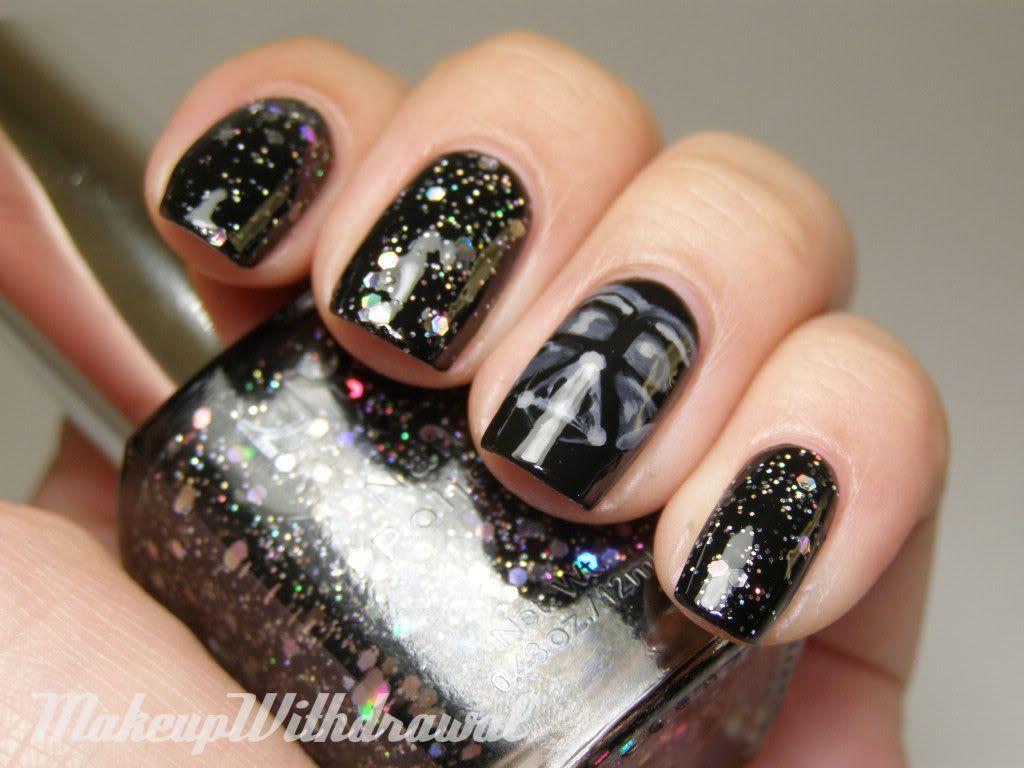 7 Amazing Star Wars Inspired Nails | Galaxy nail, Makeup and Star