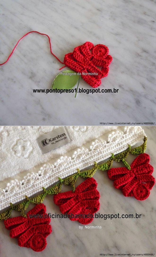 Необычный способ вязания цветка от замечательной мастерицы из Бразилии Norminha | Всё об узорах вязаных крючком | Постила