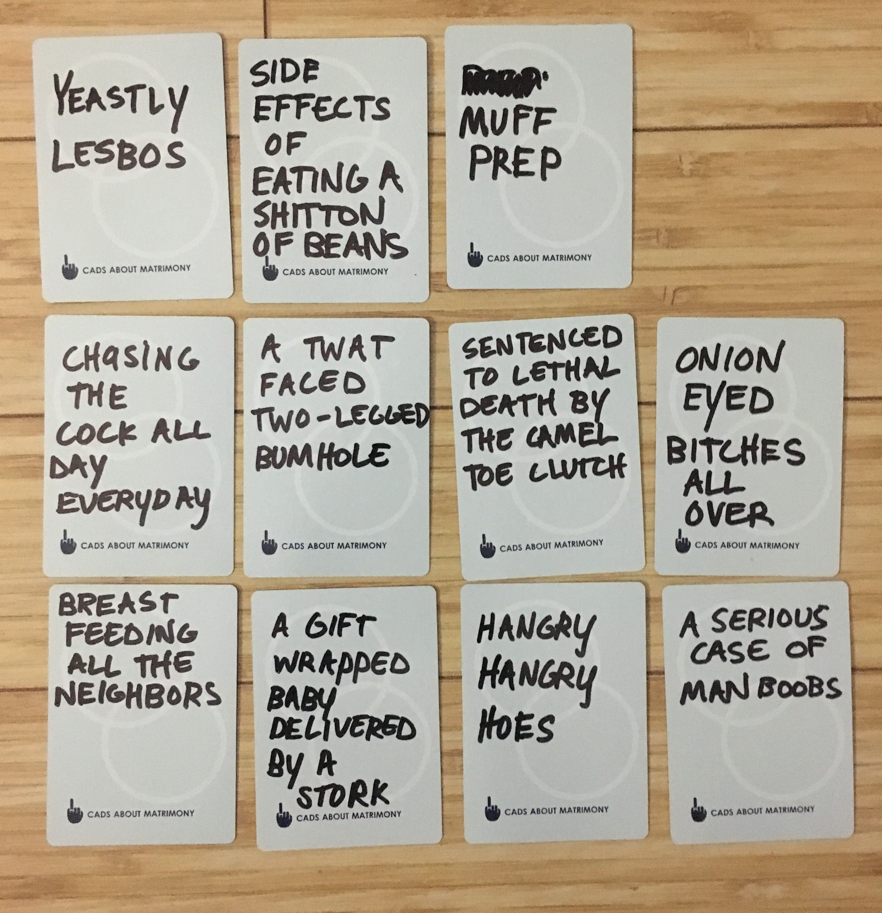 Hilarious Ideas For Blank Cards In Cards Against Humanity