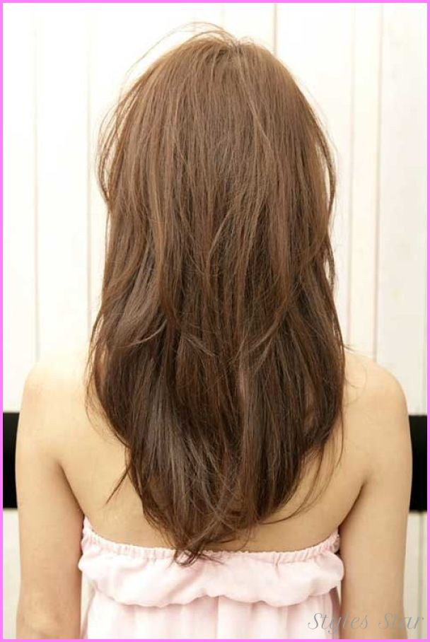Awesome Layer Cut For Long Hair Back View Stars Style Pinterest