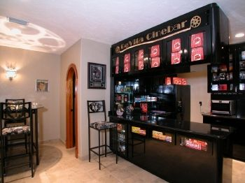 Home Theater Snack Bar Yes Please Home Theater Rooms Bars For Home Home Theater Design