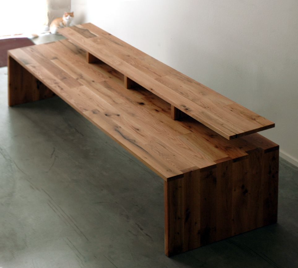 Cliff Spencer Reclaimed Wood Editing Desk.... Think Of All That Could Be