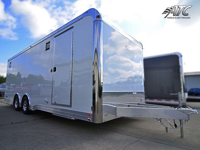 2012 Aluminum Quest Car Hauler With Fastlane Package Atcqst8524ta3