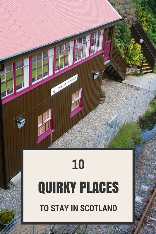 Back in 2014 I wrote a blog on 10 quirky places you can stay the night in Scotland and it seems that lots of you love staying in unique accommodation as much as I do as the blog continues to be very popular.   Since then I've stayed in a few more unusual places and even managed to spend the night at one of the recommendations on my list. I thought it was about time I shared some of the new quirky accommodation choices that I have discovered that I would personally love to try out.
