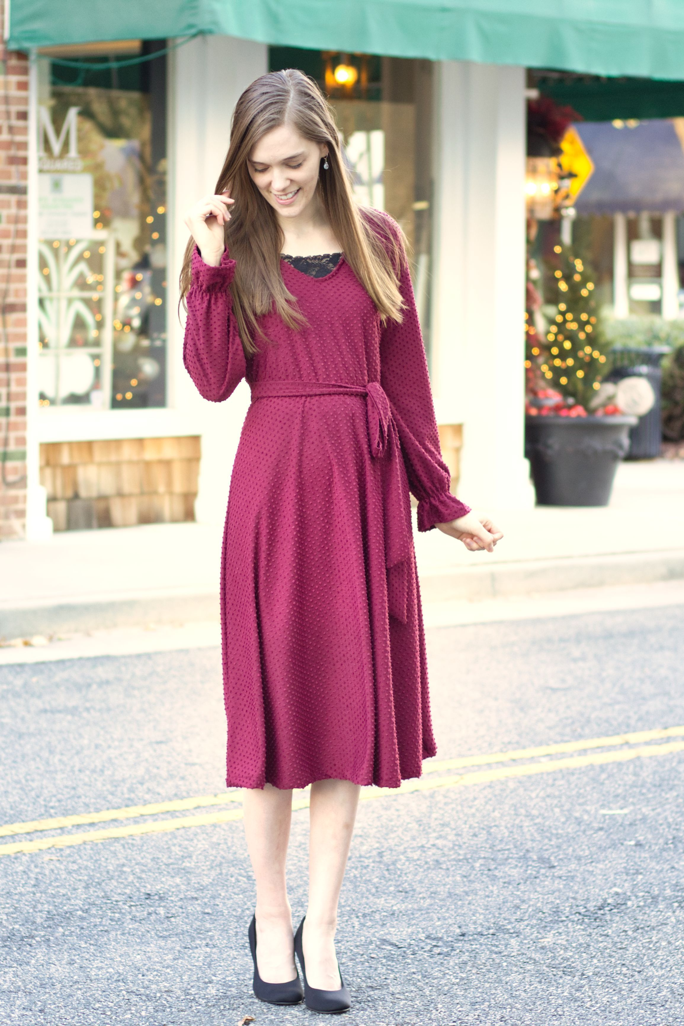 Modest Dressy Outfit Idea For Church Dressy Outfits Outfit Ideas For Church Style Inspiration Classy [ 3464 x 2309 Pixel ]