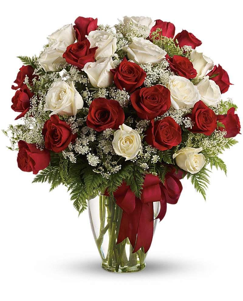 Love's Divine Bouquet - Long Stemmed Roses Flowers, Love's Divine Bouquet - Long Stemmed Roses Flower Bouquet - Teleflora.com