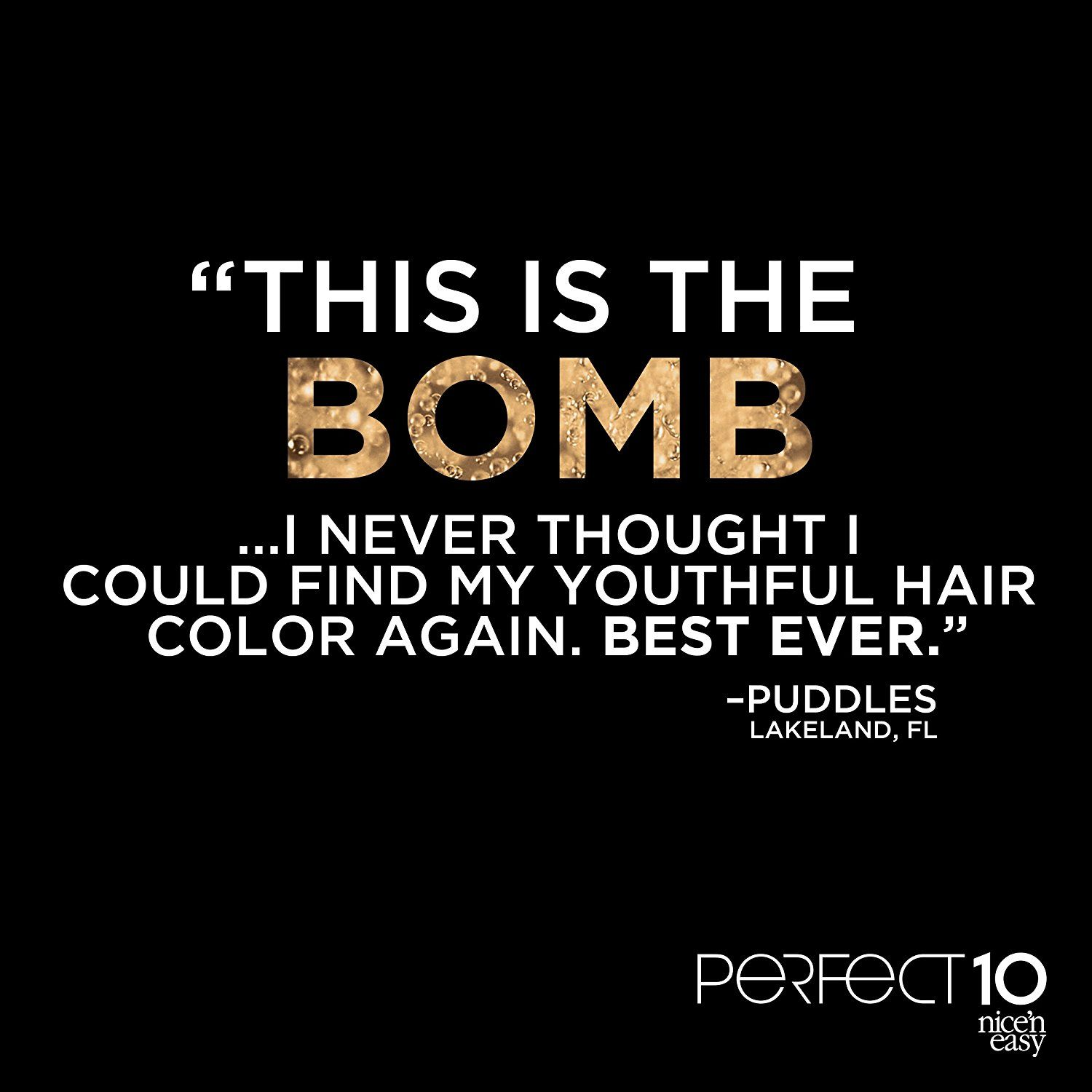 Clairol Perfect 10 By Nice N Easy Hair Color 006 Light Brown