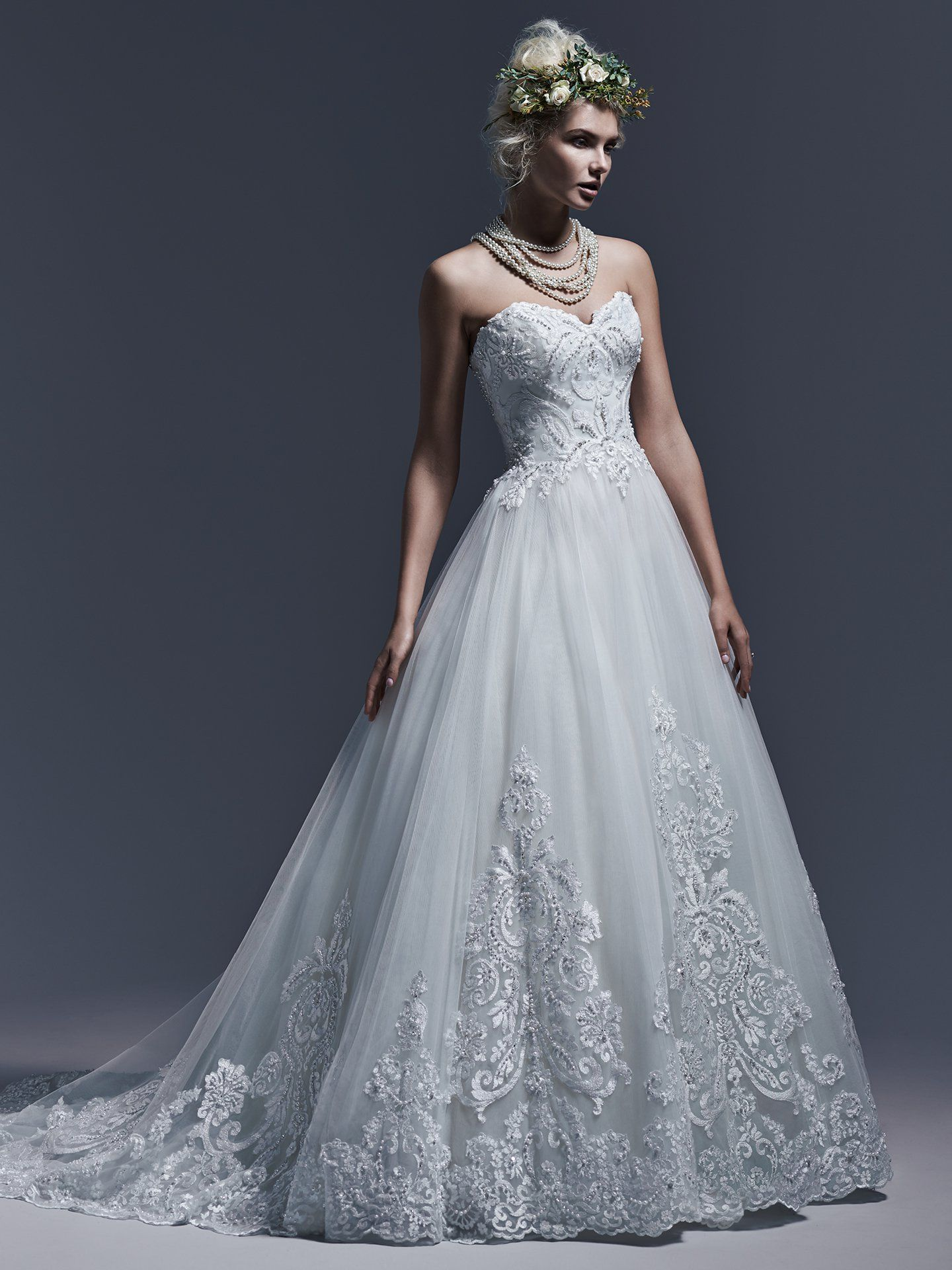 Maggie Sottero Wedding Dresses | Ball gowns, Gowns and Wedding dress