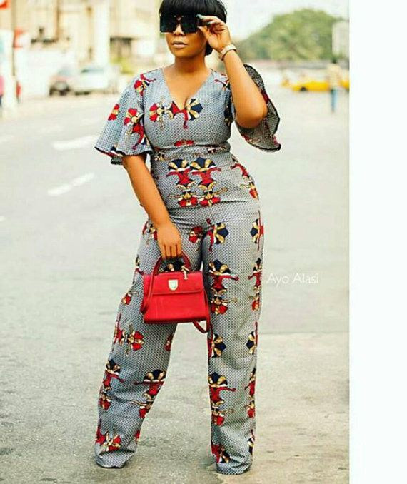 83af0e8e8a3a African jumpsuit african romper african clothing for women african print  dress ankara women clothing