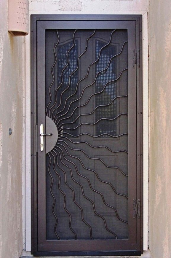 Delightful Security Screen Doors For Front Door | Looking For Unique Home Designs  Security Screen Doors