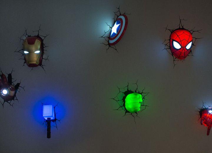 Avengers room on pinterest avengers bedroom marvel bedroom and comic book rooms - Avengers bedroom ...