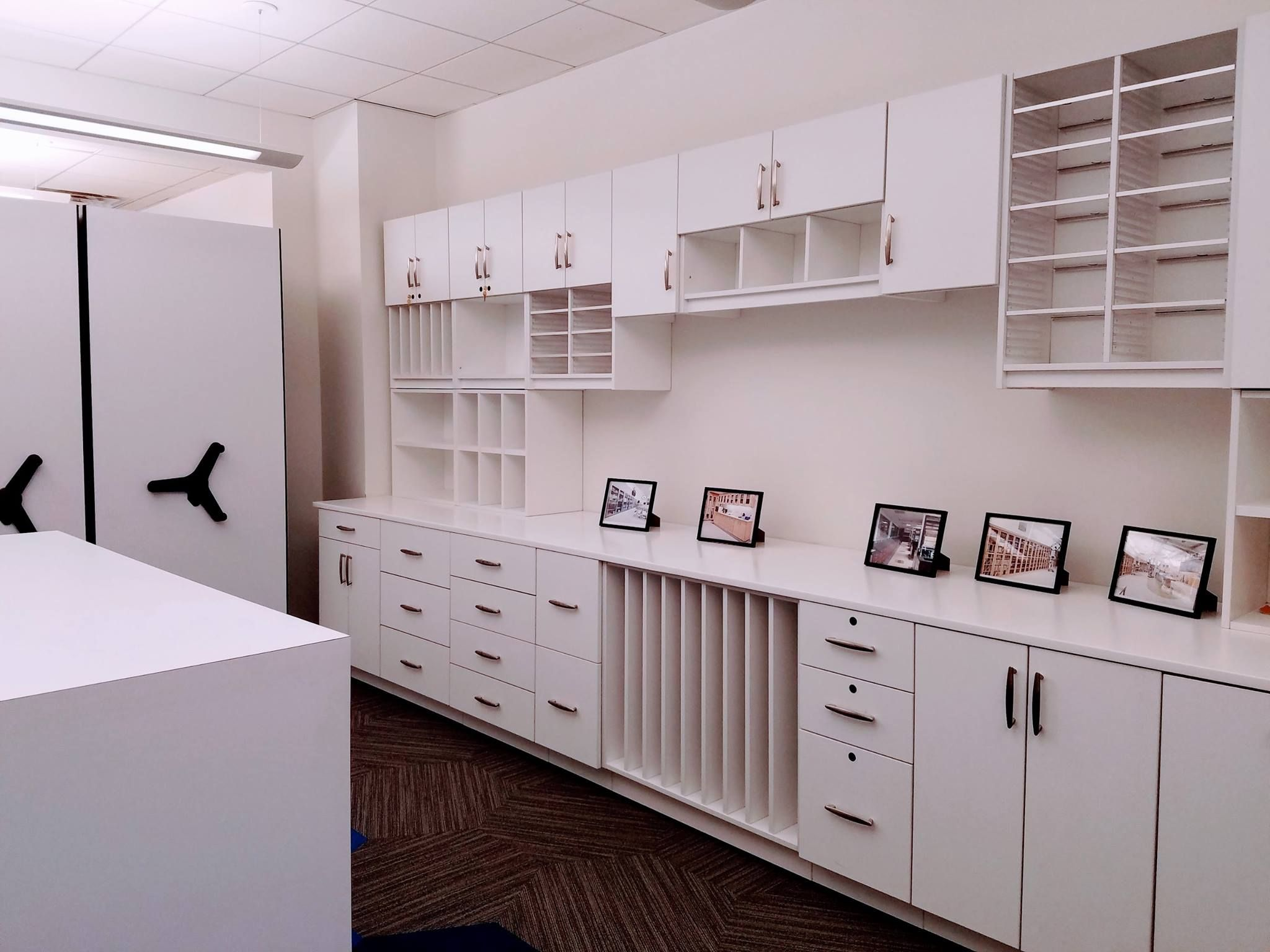 The Modern Office Systems New Showroom Modern Office Office Design High Density Storage