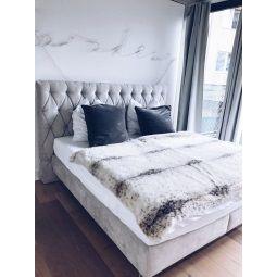 Joop Bett Stoffbezug Grau Ca 180 X 200 Cm Taschenfederkern