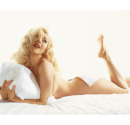 in gq nude christina Aguilera