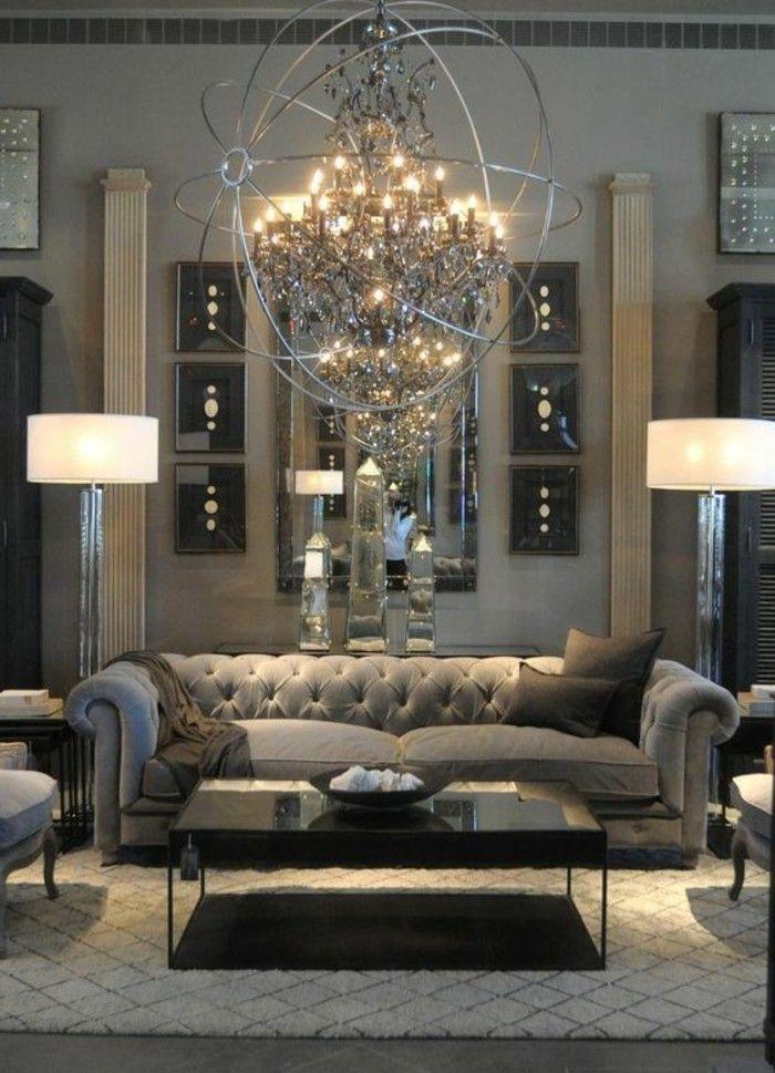 1001 ideas de c mo decorar un sal n en 5 pasos dise o for Decoracion clasica moderna interiores