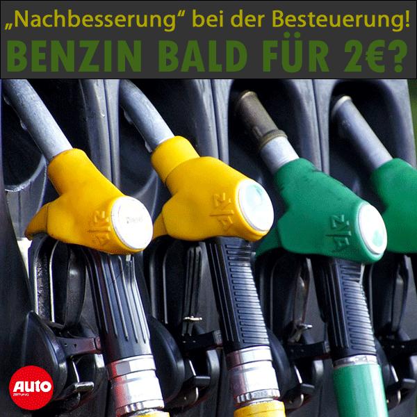 Benzin Steuererhöhung