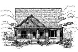 Country House Plan 3 Bedrooms 2 Bath 1200 Sq Ft Plan 2 302