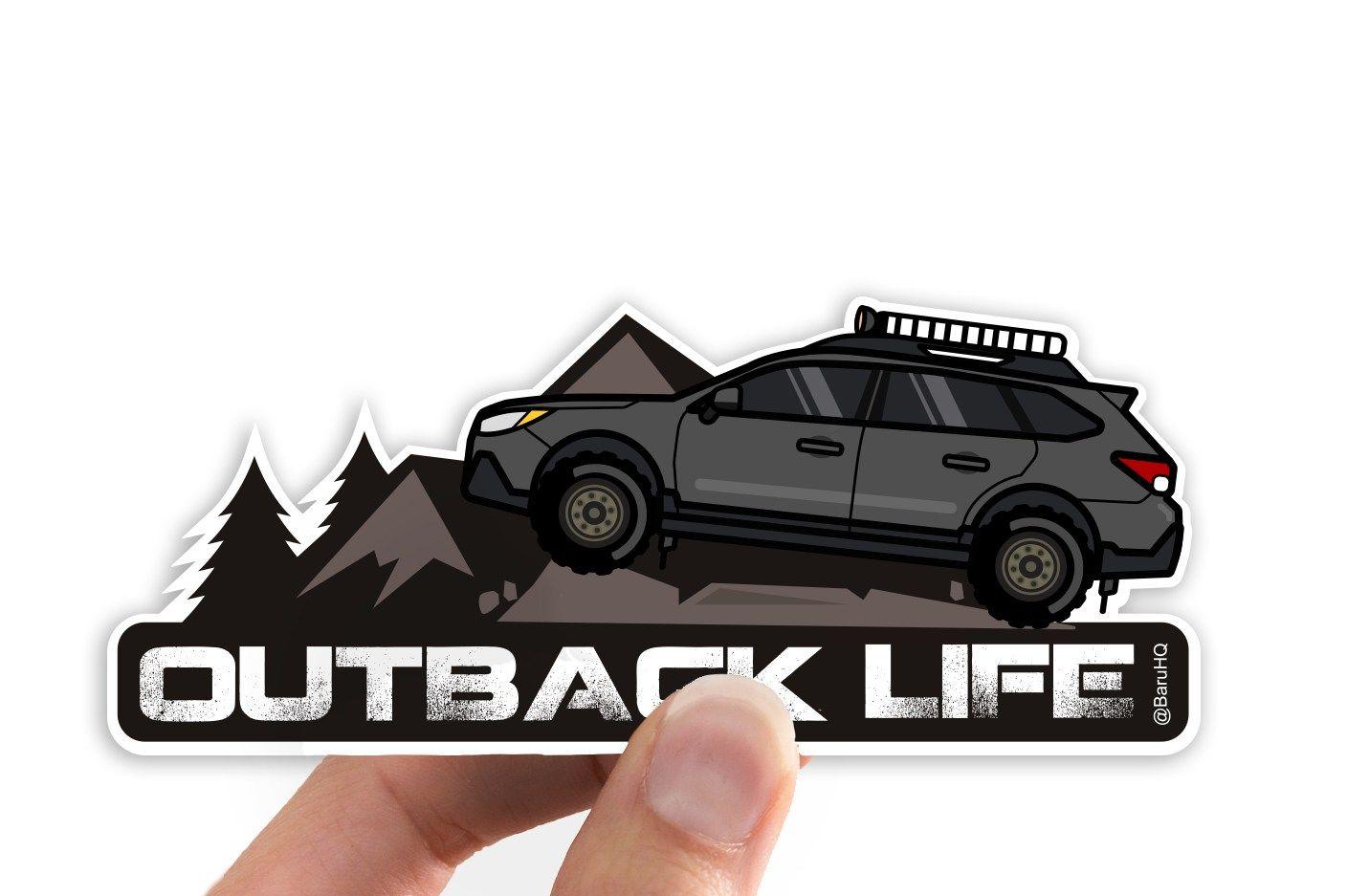 Outback Life Subaru Outback Car Decal Baru Hq Outback Car Subaru Outback Subaru [ 937 x 1431 Pixel ]