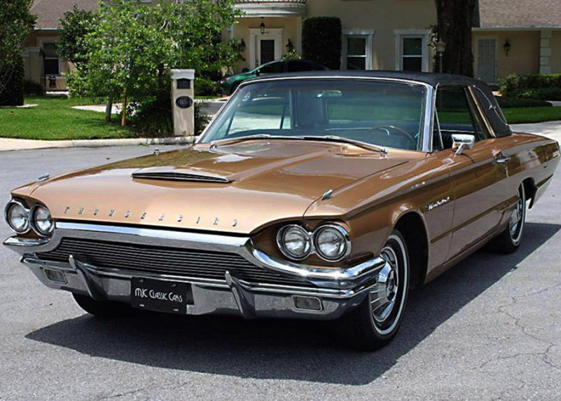 1964 Ford Thunderbird Coupe Mjc Classic Cars Pristine Classic