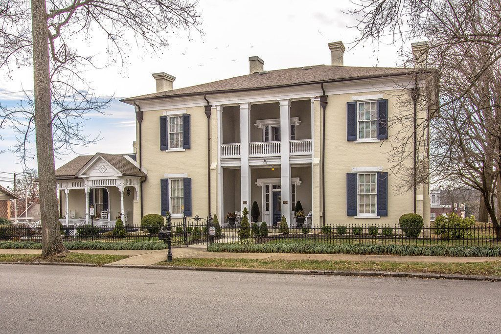 For 600K, a Storied 1833 Home in Central Tennessee