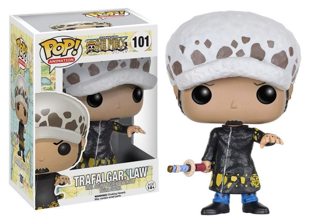 Pop Anime 101 One Piece Trafalgar Law Funko Pop One Piece Funko Pop Anime Vinyl Figures