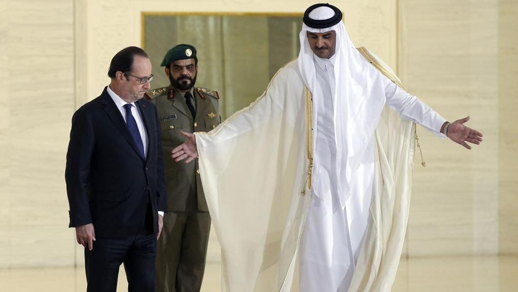 François Hollande #Doha #Qatar #Rafale