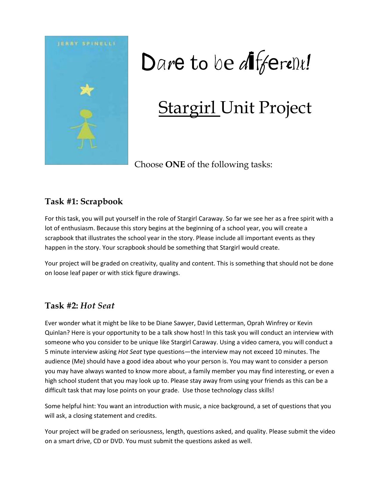 stargirl projects doc stargirl projects stargirl projects doc
