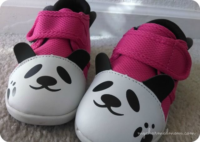 Yochi Squeaking Shoes   http://mycharmedmom.com/2013/11/tubby-table-review/