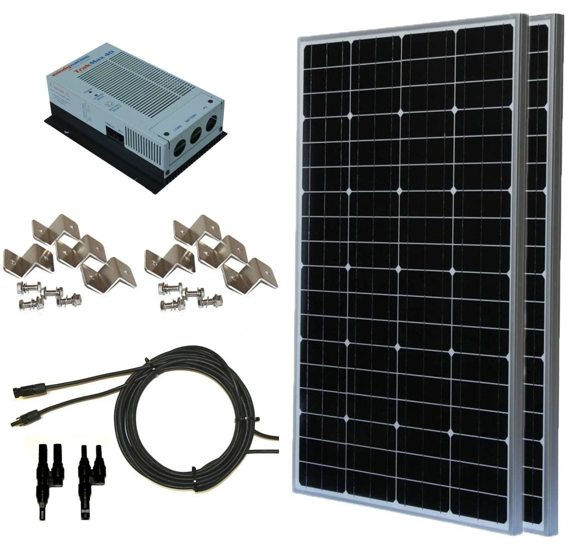 Amazon com: 200W 200 Watt, 12 Volt, 24 Volt Solar Panel +