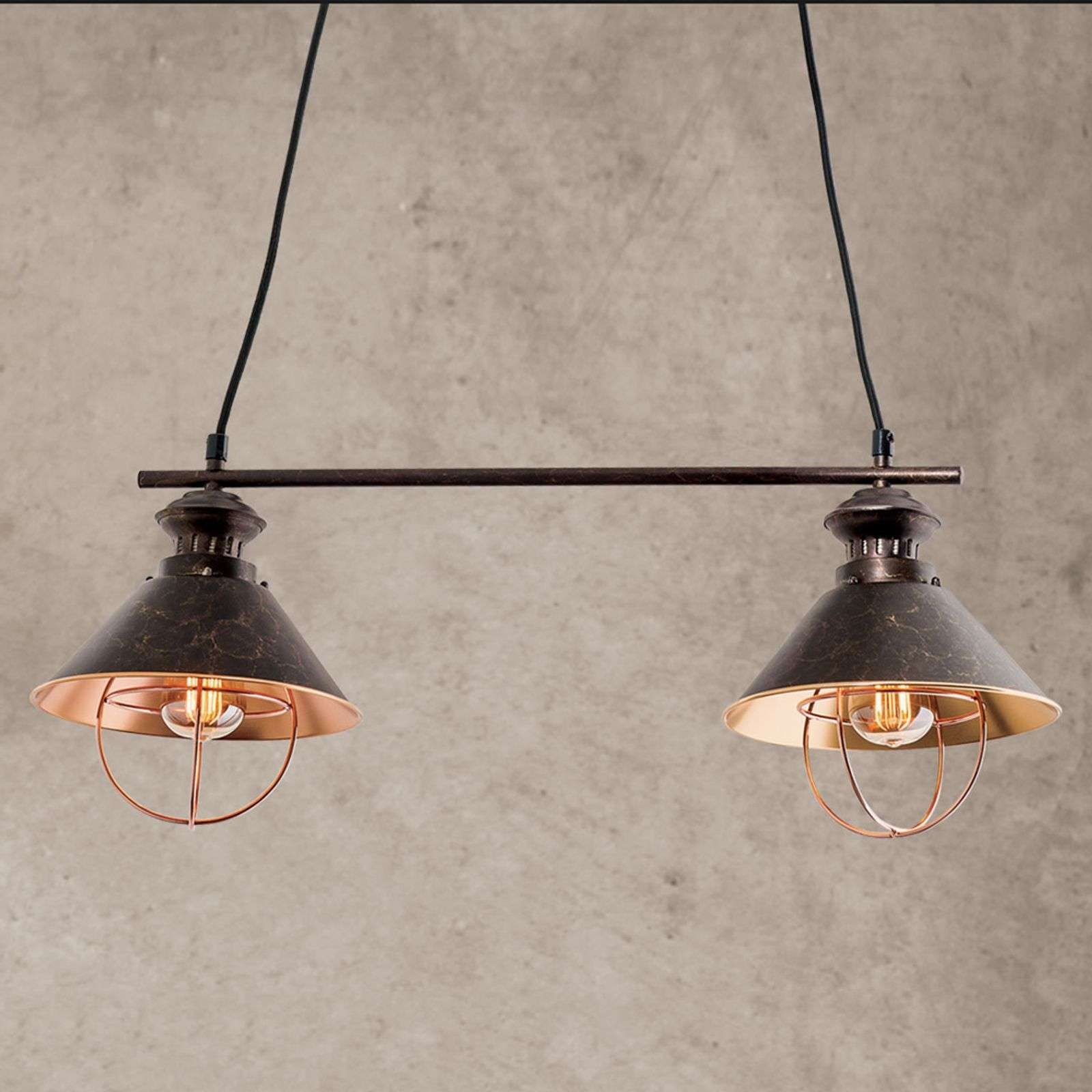 Hangelampe Vintage Glas Industrial Hangelampe 3 Lamps Hanglamp Hanglamp Koper Bol Oosterse Hanglampen Voor Buiten In 2020 Hanglamp Hangende Lichten Licht