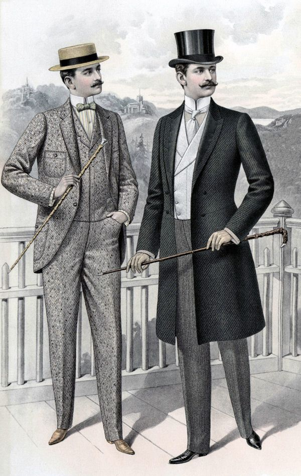 (1890 - 1910) Full Line of Men s Edwardian Style Clothing. Everything a  gentleman needs 06d839ff6f37