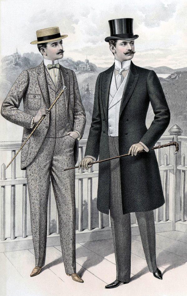 1890 1910 Full Line Of Men S Edwardian Style Clothing