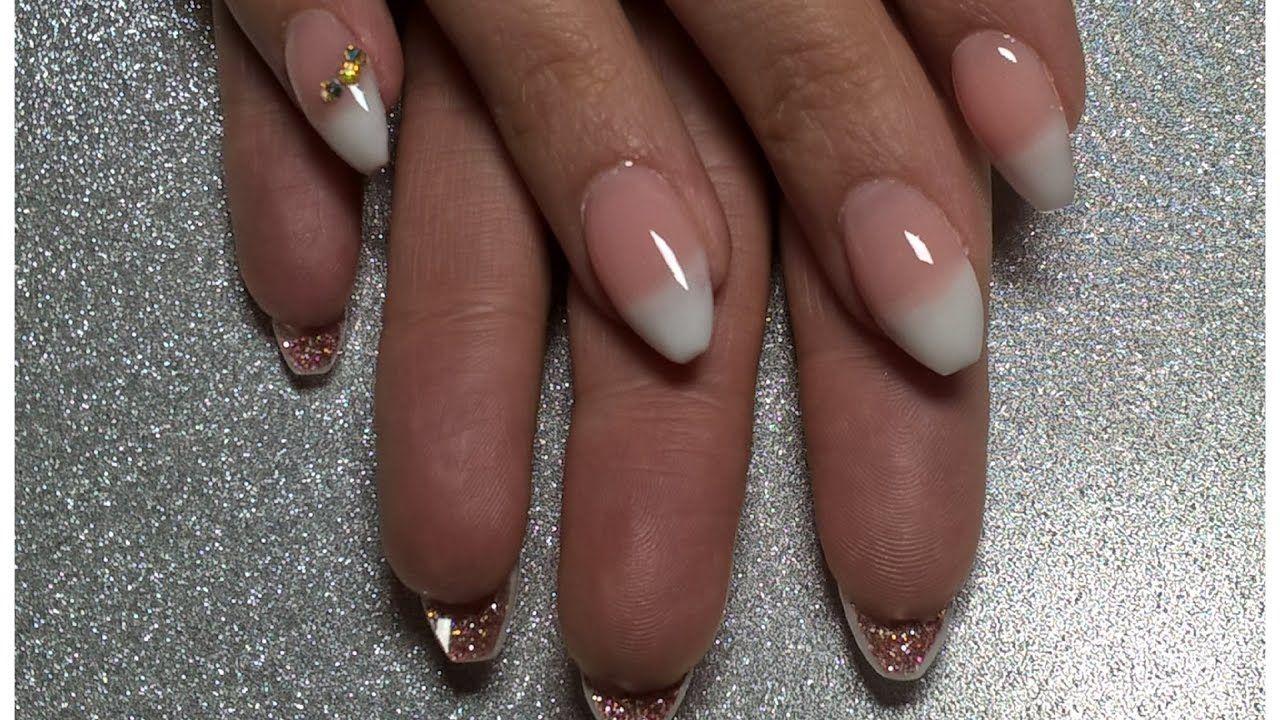 Missu Builder Gel French Pink White Sculpt Infill Thenailengineer Nail Tutorial Videos Nail Art Gel Nails