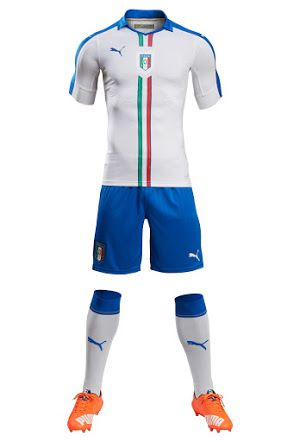 ITALIA 2016 away Camisetas Deportivas 21f92b691f2d7