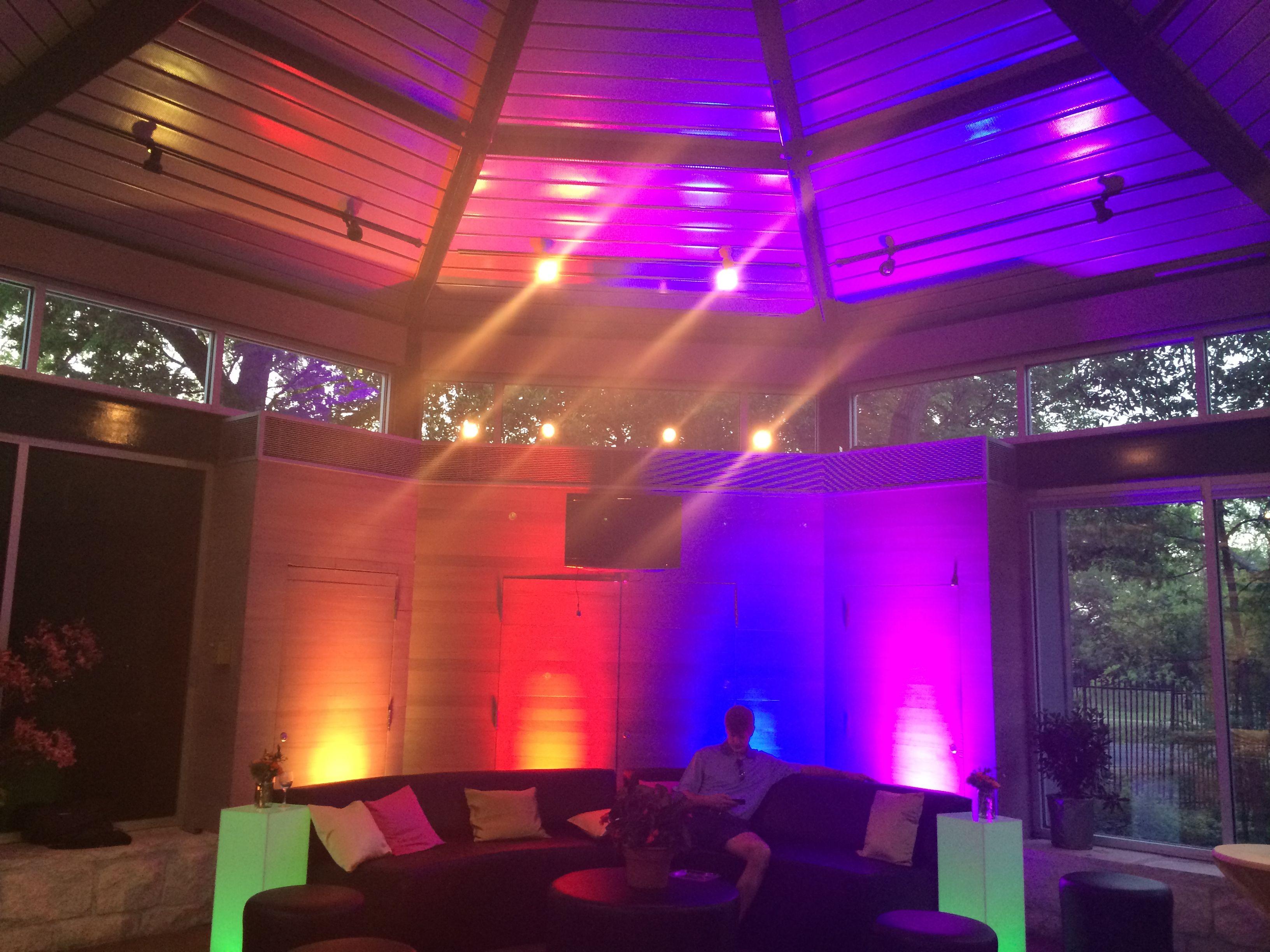 Intelligent Lighting Design At The Umlauf Sculpture Garden