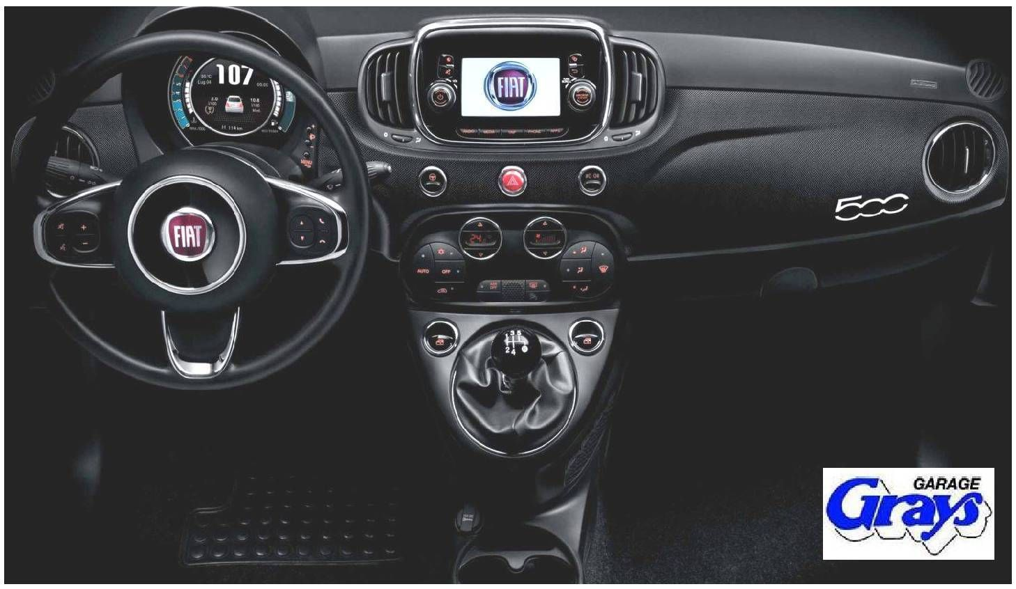 Fiat 500 Micro Carbon Wrapped Dashboard Rhd Kit Fiat 500 Fiat