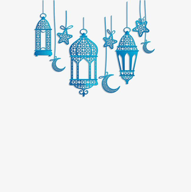 Islamic Lantern Decorations, Ramadan, The Koran, Islamic Vector PNG